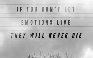 Auch negative Gefühle haben Ihre Berechtigung