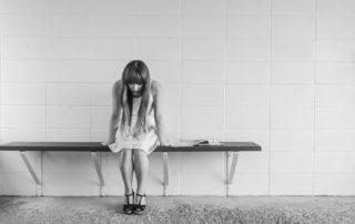 Sorgen Zukunftsängste und Grübeln liegen schwer auf der Psyche