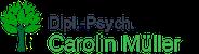 Dipl.-Psych. Carolin Müller Logo